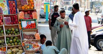 Єгипет вуличні торговці